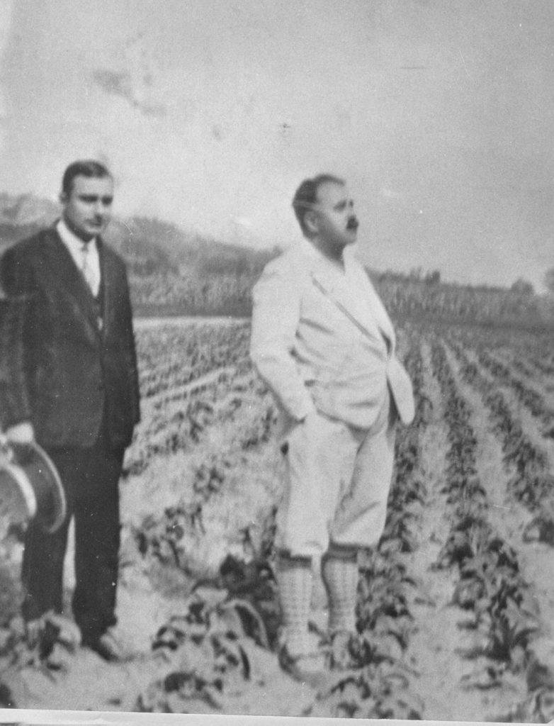 Andrei Farago - vizitand culturile de plante